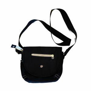 Sherpani Milli Crossbody Bag Black Flower